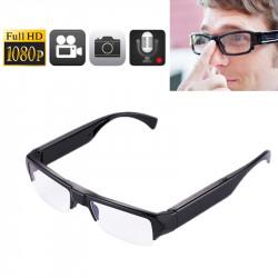 Fuld HD (1080p) 5.0 MP Spionbriller - optager lyd / video / foto, understøtter op til 32GB hukommelse