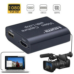 HDMI til USB adapter - perfekt til streaming !