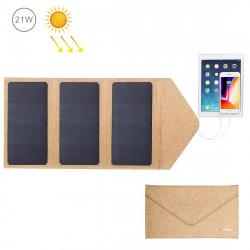 sammenfoldelig solar oplader til smarphone og tablet