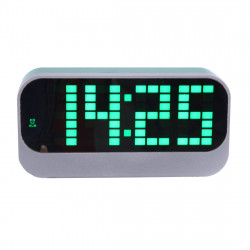 Desk Table Digital Backlight LED Alarm Clock with Time & Calendar & Temperature Display