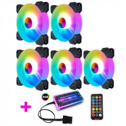 Justerbar computer fans 120mm RGB