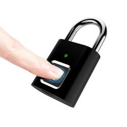 Fingeraftryks hængelås med op til 20 bruger