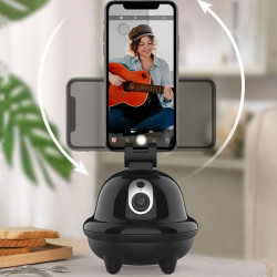 Smartphone-stativ, der følger ansigter