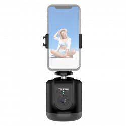 Telesin automatisk smartphonestativ med ansigtsgenkendelse