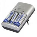Multifunktions batteri-oplader