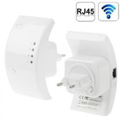 300Mbps trådløse-N Hvid WiFi 802.11n repeateren, rækkevidde forlængelse