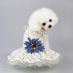 Sommer åndbart Daisy nederdel til hunde