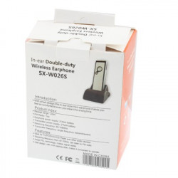 Trådløs øretelefon med FM-radio funktion