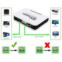 HDMI til VGA & Lyd HDTV Converter