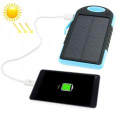 5000mAh soldrevet oplader - Vejrbestandig, støvtæt, stødsikker