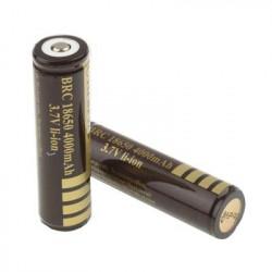 2 styks Litium ion batteri 18650 4000mAh