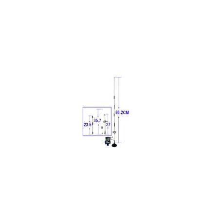 Image of   14dBi 3G/GSM/CDMA Netværks antenne (FME Stik)