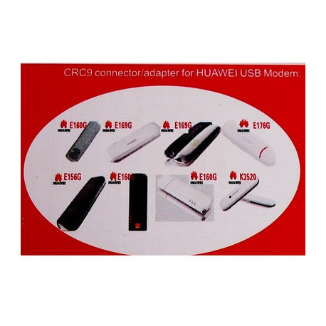 Image of   11DBi 3G/GSM/CDMA Netværk antenne (CRC9 Stik)