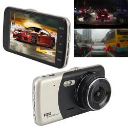 Full HD Dashcam med for- og bagkamera