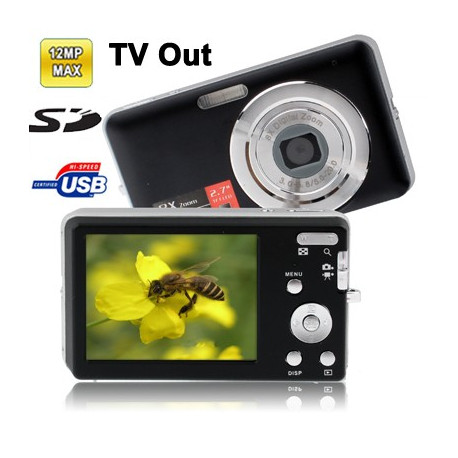 N/A – Dc-e70 sort 3.0 megapixel 8x digitalt zoom-kamera fra olsens it aps