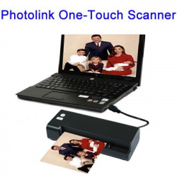 Photolink One-Touch Scanner