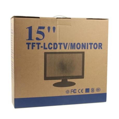 Image of   15 tommer 04:03 LCD-skærm, grænseflade: D-SUB, maks. opløsning: 1024 x 768
