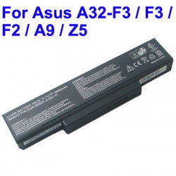 4400mAh 6 cell batteri pack to the ASUS F3 / A32-F3 / F2 / A9 / Z5