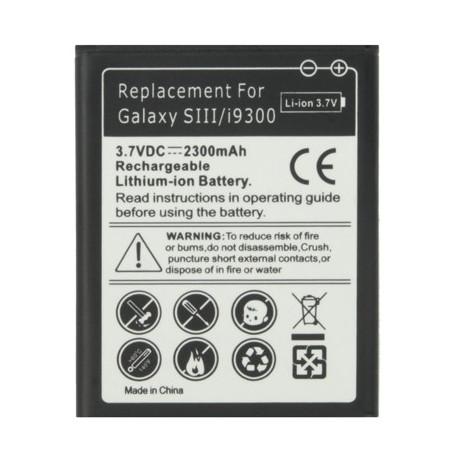 Image of   2300 mAh-batteri til Samsung Galaxy SIII / i9300