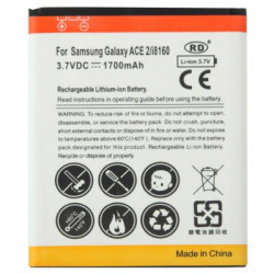 1700mAh Batteri the Samsung Galaxy Ace 2 / i8160