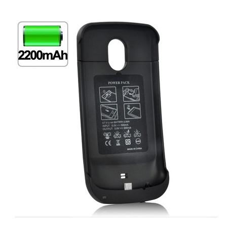 Image of   2200 mAh ultratynd, forlænget batteripakke til Samsung Galaxy Nexus / i9250