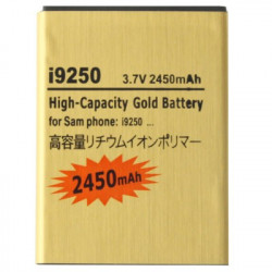 2450mAh High Capacity Guld Batteri the Samsung Galaxy Nexus / i9250