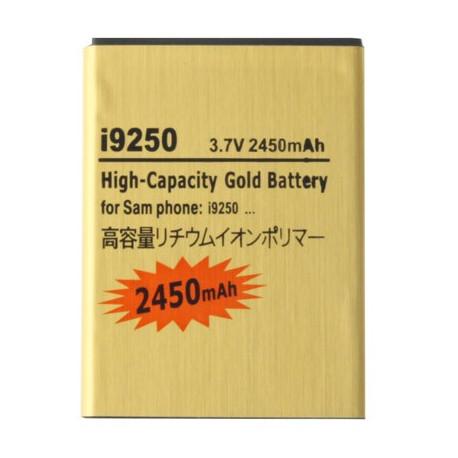 Image of   2450mAh High Capacity Guld Batteri til Samsung Galaxy Nexus / i9250