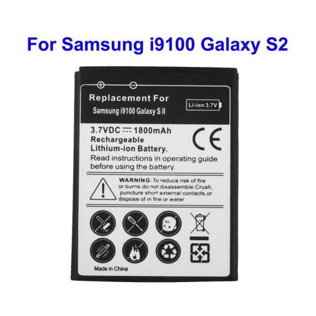Image of   Batteri til mobiltelefon Samsung Galaxy S2 / i9100