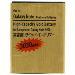 3030mAh High Capacity Guld Batteri the Samsung Galaxy Note / i9220 / N7000