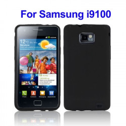 TPU Taske the Samsung i9100 / Galaxy S2 (sort)