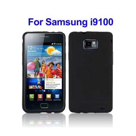 TPU Taske the Samsung i9100 / Galaxy S2 (sort)