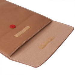 Magic Folder ærme Læderetui taske the MacBook Air 13,3 tommer (Brown)