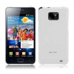 SGP-serien Frosted håndtagsdækslet the Samsung Galaxy S II / i9100 (Hvid)