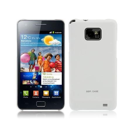 Image of   SGP-serie, matteret hylster til Samsung Galaxy S II / i9100 (hvid)