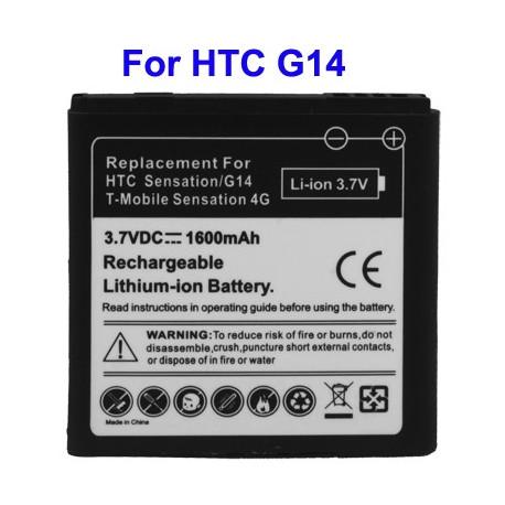 Image of   Batteri til mobiltelefon HTC G17/EVO 3D / G 14