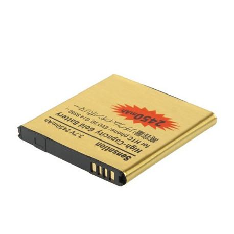 Image of   2450 mAh guldbatteri m. høj kapacitet til HTC EVO 3D / G14