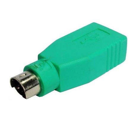 Image of   USB A Jack til mini DIN6 mandlige Adapter (USB til PS / 2)