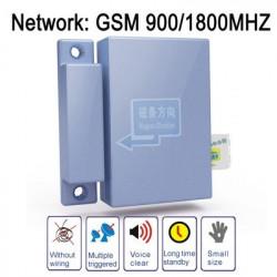 GSM multi-funktionel monitor, ringer el. sender SMS ved døråbning og -lukning. Dual band, netværk: GSM 90