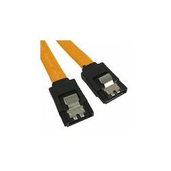 Serielt SATA kabel med metalclips!