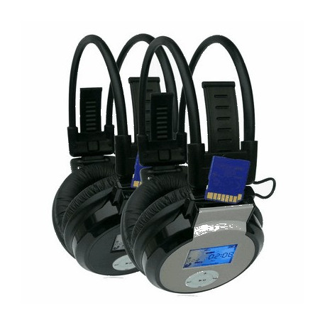 N/A Høretelefoner/hørebøffer uden ledning, hi-fi mp3 på olsens it aps