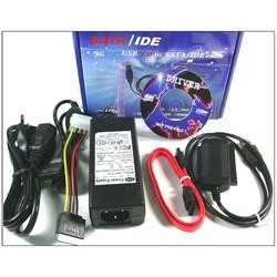 "USB til SATA/IDE 3,5"" 2,5"" Konverter / Adapter"