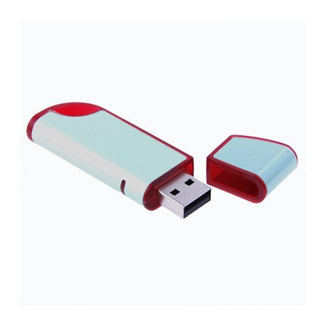 Image of   2GB USB Flash Stick Lysegrøn