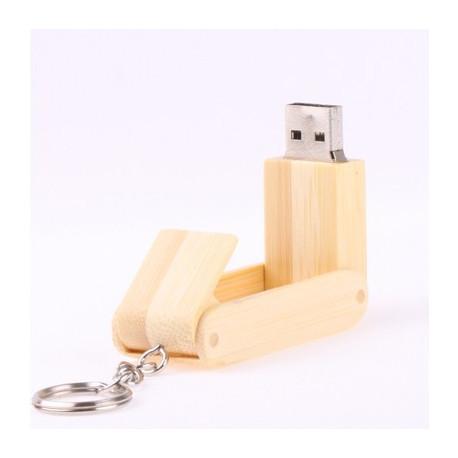 Image of   2GB USB Flash Stick I Træ