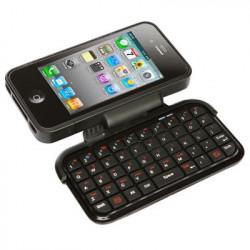 Tastatur indbygget i cover til iPhone 4