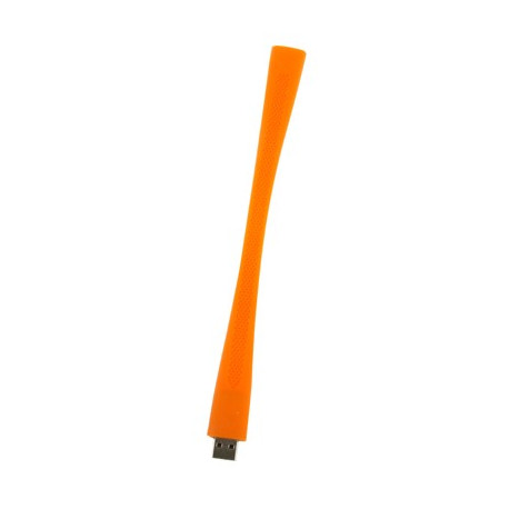"""Image of   2GB """"Silicon"""" armbånd med en USB 2.0 Flash Disk (orange)"""