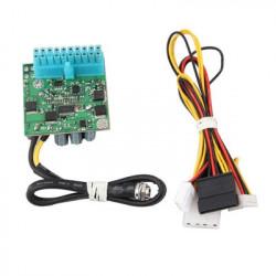 PW-200-M 200W DC-DC ITX ATX 12V Power Supply PSU for Mini PC (20pin)