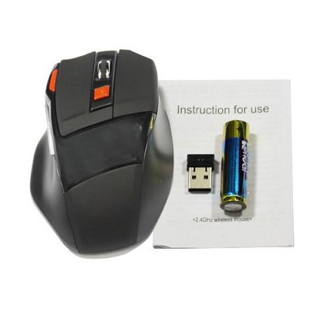 Image of   2,4 GHz trådløs mus med USB mini-modtager, sæt i og brug