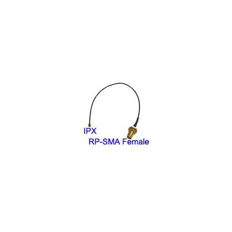N/A – U.fl / ipx til rp sma hunstik-kabel til wifi-netværk, længde: 18 cm på olsens it aps