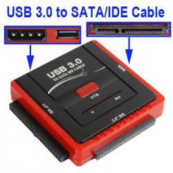USB 3.0 dock til SATA/IDE enheder