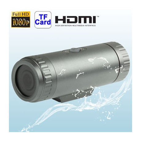 N/A – 5,0 megapixel vandtæt mini-sportskamera m. fuld hd, 1080p, tf-kort, 170 graders synsvinkel fra olsens it aps